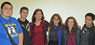 Dr. Lisa McCool met with Honors Program members
