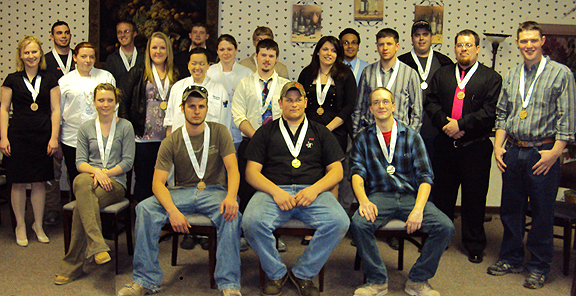 2012 NYS SkillsUSA Postsecondary competition winners