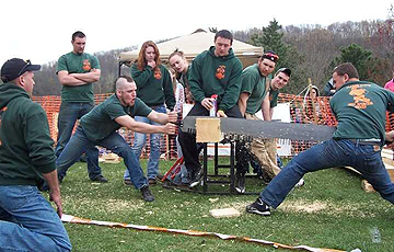 Pioneer Woodsmen's team members