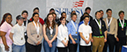 SkillsUSA Post-Secondary Competition winners pose for photo at winners' banquet