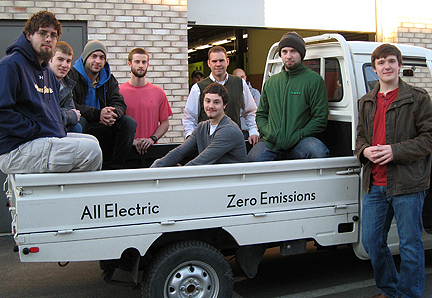 electric vehicle project