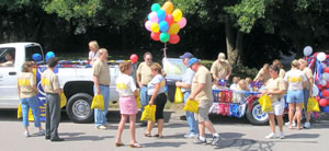 Ballon Rally Parade