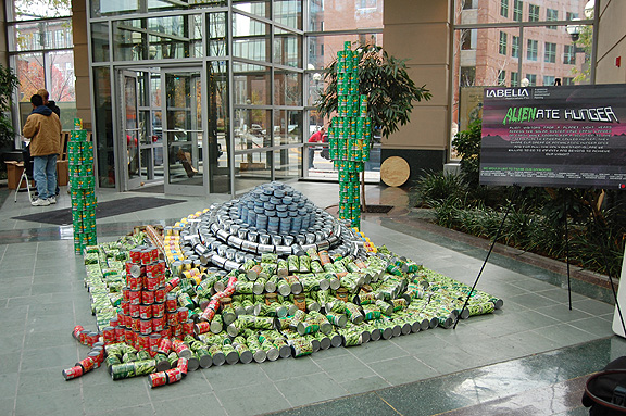 CANstruction design and build competition