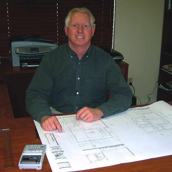 Michael Galatio in his office