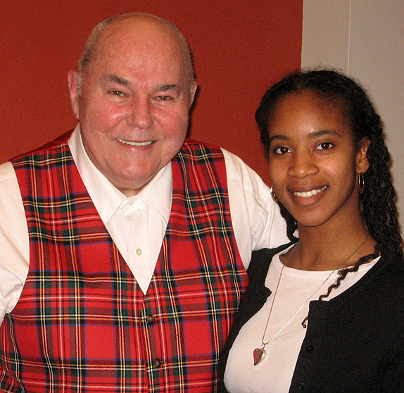 Dr. John O. Hunter and Octavia Alston-Wilson