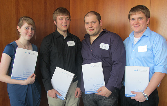 ASC students at conference in Prague, Czech Republic