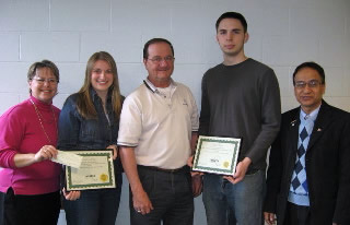 NYSETA Scholarship Winners 2007
