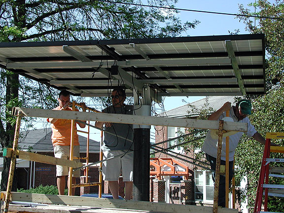 photovoltaic system install
