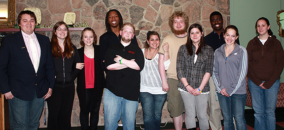 Students who were nominated for Student Employee of the Year