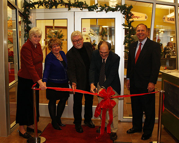 Ribbon Cutting Ceremony at The Terrace