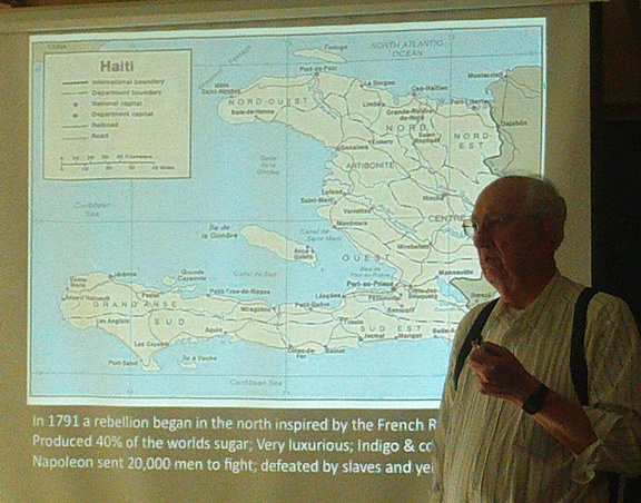 Dr. Kenneth Van Dine gives an overview of Haiti, its history, and its struggles.