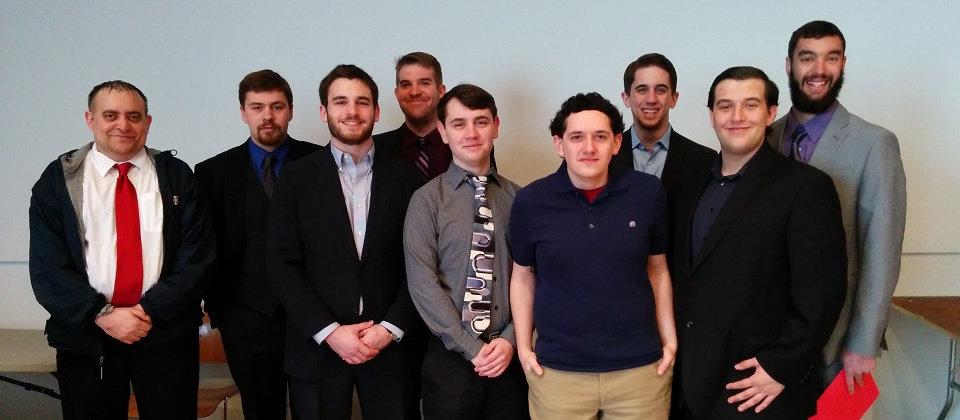 nine male students