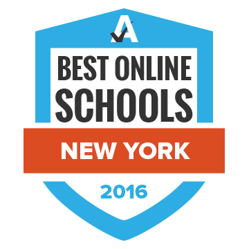 Alfred State was ranked fourth on Accredited Schools Online's list of Best Online Schools in New York for 2015-2016.