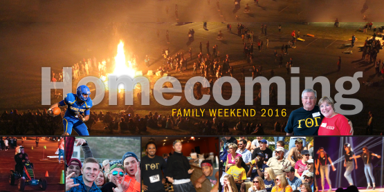Homecoming/Family Weekend 2016