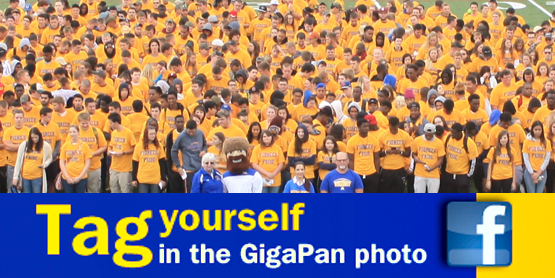 Tag yourself in the GigaPan photo