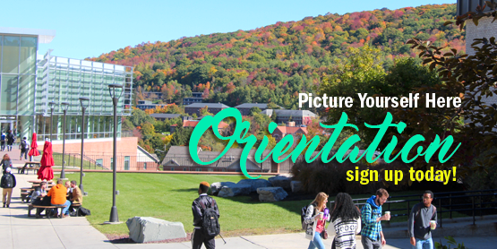 Picture Yourself Here, Orientation, sign up today!