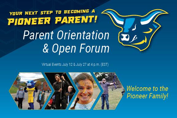 Parent Orientation and Open Forum