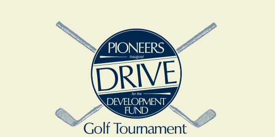 Pioneers drive for the Development Fund golf tournament