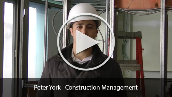 Peter York | Construction Management Student Video