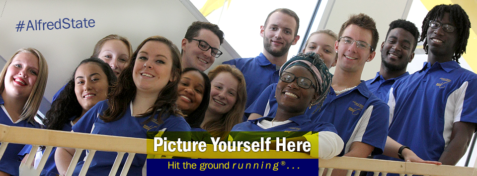 The 2016 Orientation Leaders pose for a photo. Picture Yourself Here, Hit the ground running. Sign up now for Orientation