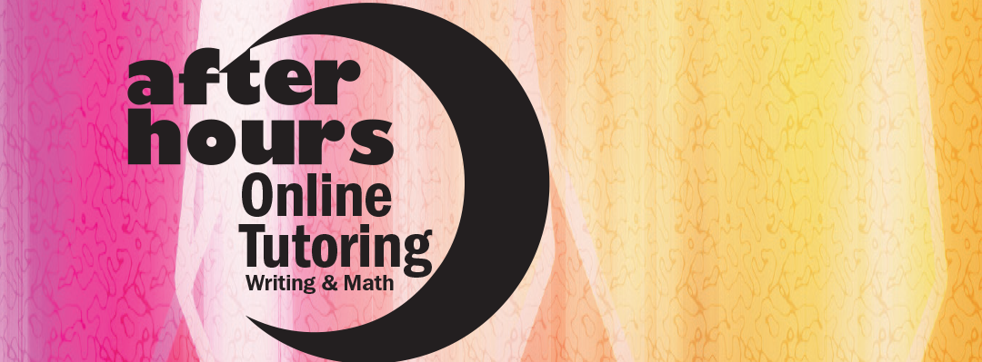 after hours online tutoring writing & math logo