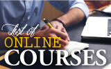 list of online courses