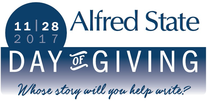 11-28-17 Alfred State Day of Giving, Whose story will you help write?