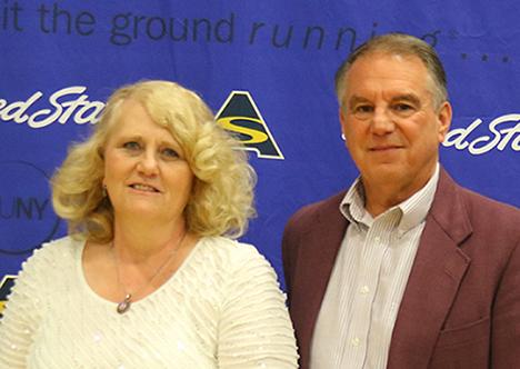 Christine Young and Richard Mitchell