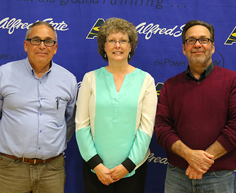 George Richardson, Barbara Davis, and Richard Carlo