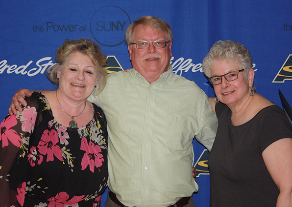 Sandra Gerling-Yelle, Charles Neal, and Barbara Greil
