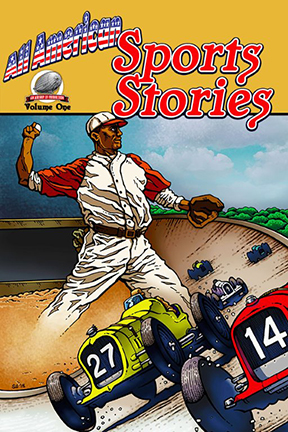 "book cover for ""All American Sports Stories"""