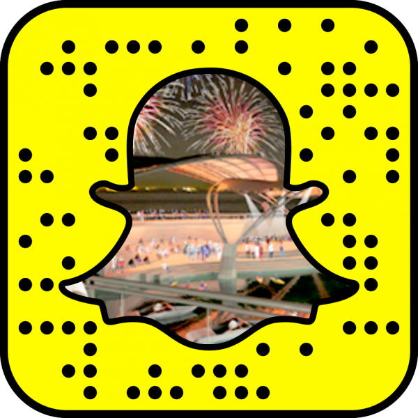 Snapcode linking to Architecture & Design web page