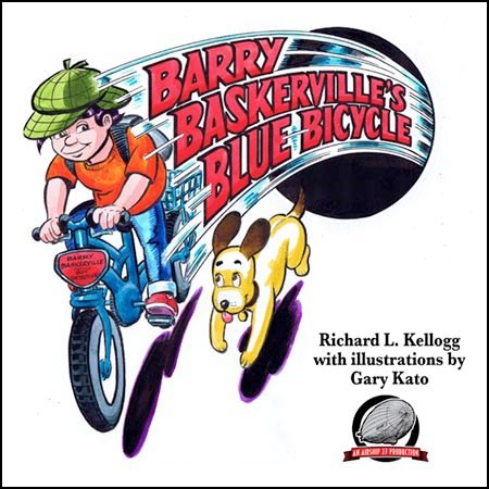 Barry Baskerville's Blue Bicycle cover image