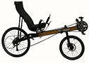 "The Bicycle Man's Linear Roadster was voted ""2016 BentRider Online Recumbent Bike of the Year."""