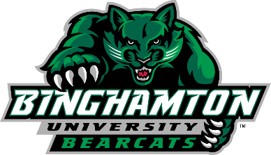 Binghamton University bearcats logo