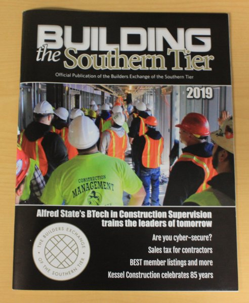 Building the Southern Tier magazine cover