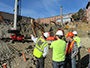 construction management students gain valuable experience by learning on site from industry professionals