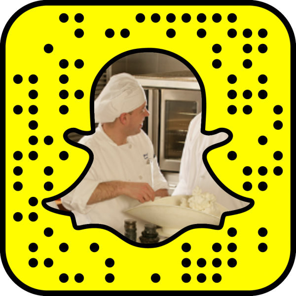 Snapcode linking to Culinary Arts web page