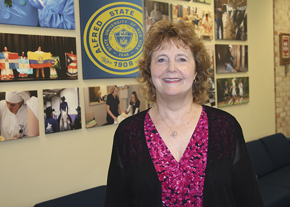 Deborah Goodrich, associate vice president of Enrollment Management for Alfred State College.