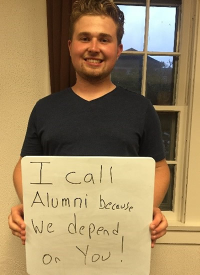 Dennis Lytkine - I call alumni because we depend on you!