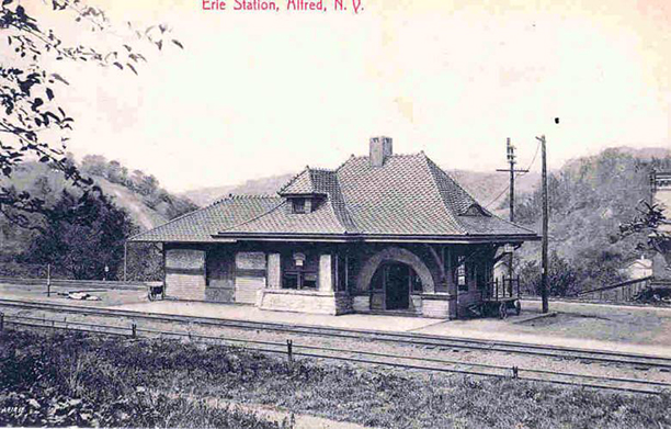 image depicting Erie Station in Alfred