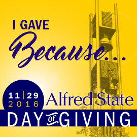 I gave because...