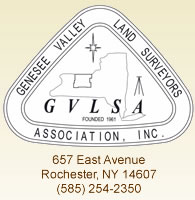 Genesee Valley Land Surveyors Association, Inc. logo, 657 East Ave, Rochester, NY 14607, 585-254-2350