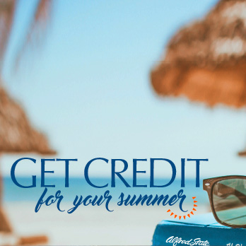 Get Credit for your summer