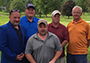 winners of the Alfred State Inaugural Golf Tournament
