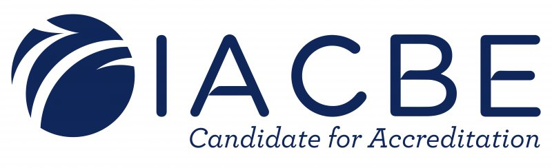 IACBE Candidate for Accreditation logo
