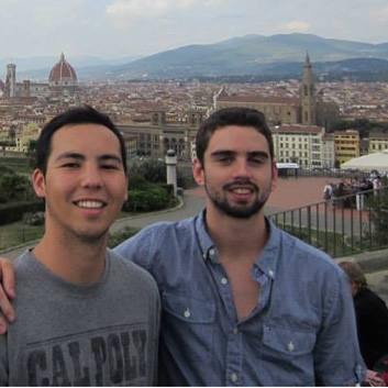 Students in Italy