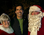 "Melissa Nickerson, ""The Great Christmas Light Fight"" co-host Carter Oosterhouse, and Jon Nickerson"