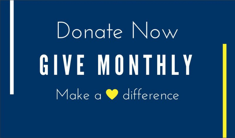 Donate now, give monthly, make a difference