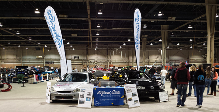 display at the 38th annual Motorama event